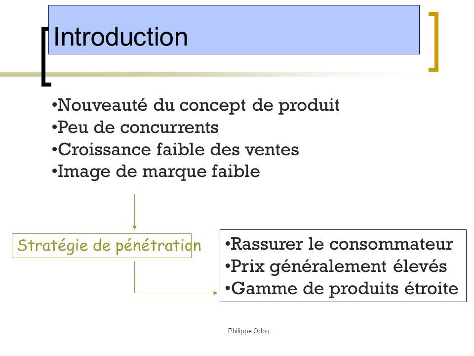 Philippe Odou 1 Cycle de vie dun produit