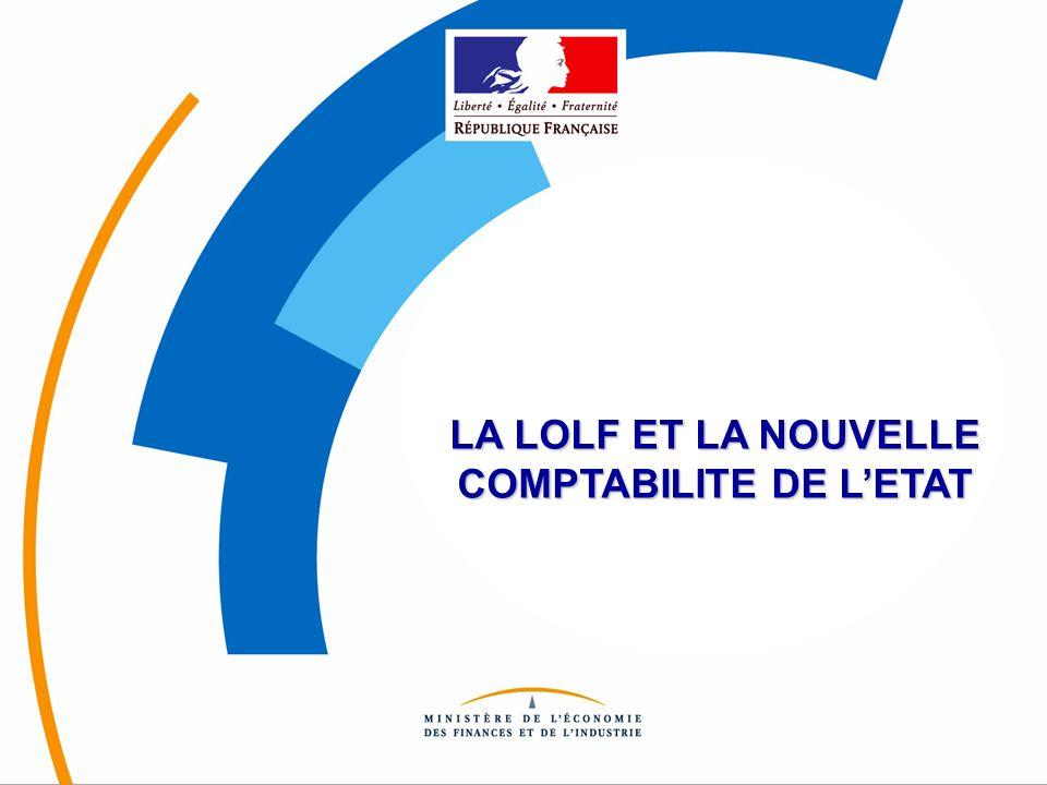 © 2003 - DRB [Minéfi] LA LOLF ET LA NOUVELLE COMPTABILITE DE LETAT
