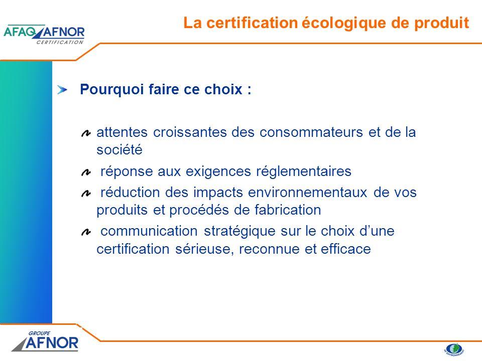 NF Environnement Eco-label européen Label officiel français Label officiel européen Les labels écologiques reconnus par les pouvoirs publics français : Preuves de vos engagements pour préserver lenvironnement et valoriser votre entreprise éco-citoyenne La certification écologique de produit