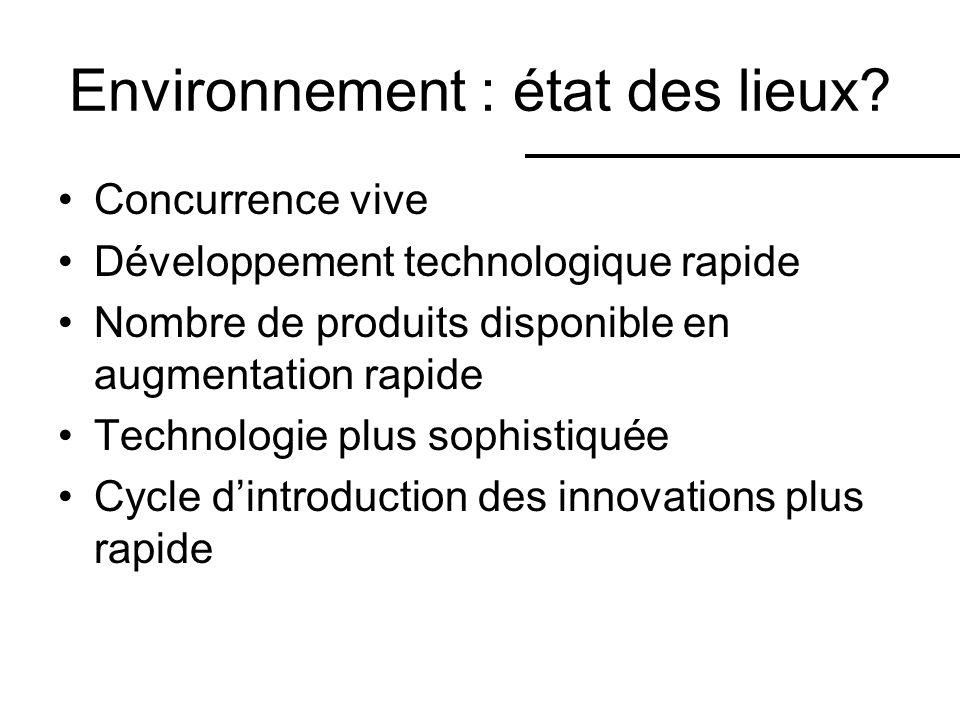 Environnement : état des lieux.