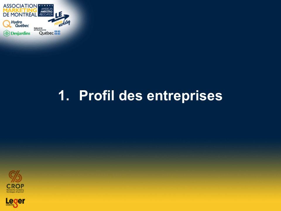 1.Profil des entreprises