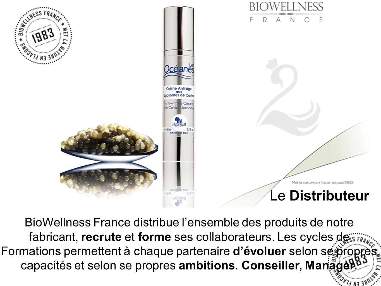 BioWellness France distribue lensemble des produits de notre fabricant, recrute et forme ses collaborateurs.