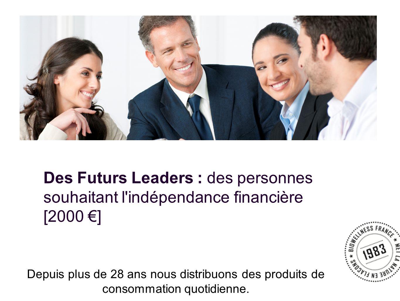 Des Futurs Leaders : des personnes souhaitant l indépendance financière [2000 ]