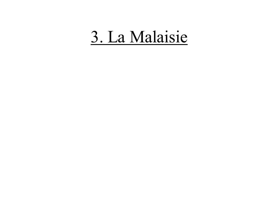 3. La Malaisie