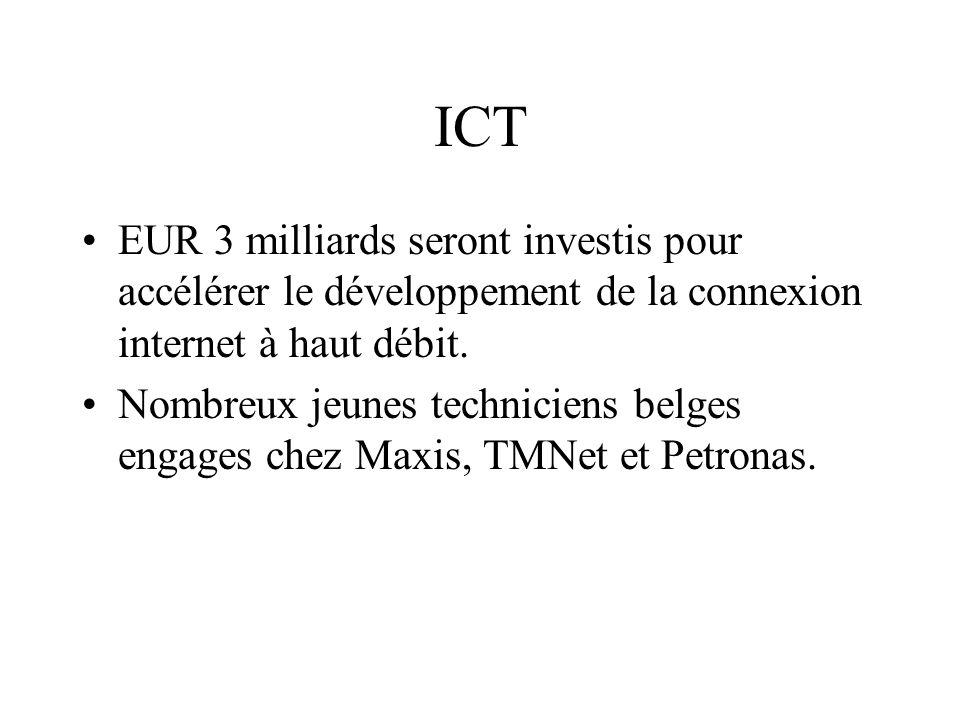 ICT EUR 3 milliards seront investis pour accélérer le développement de la connexion internet à haut débit.