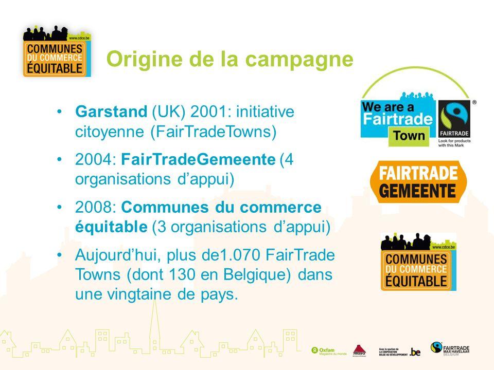 Un double objectif 1.Sensibiliser au niveau local 2.Encourager la consommation - de produits équitables & - de produits locaux