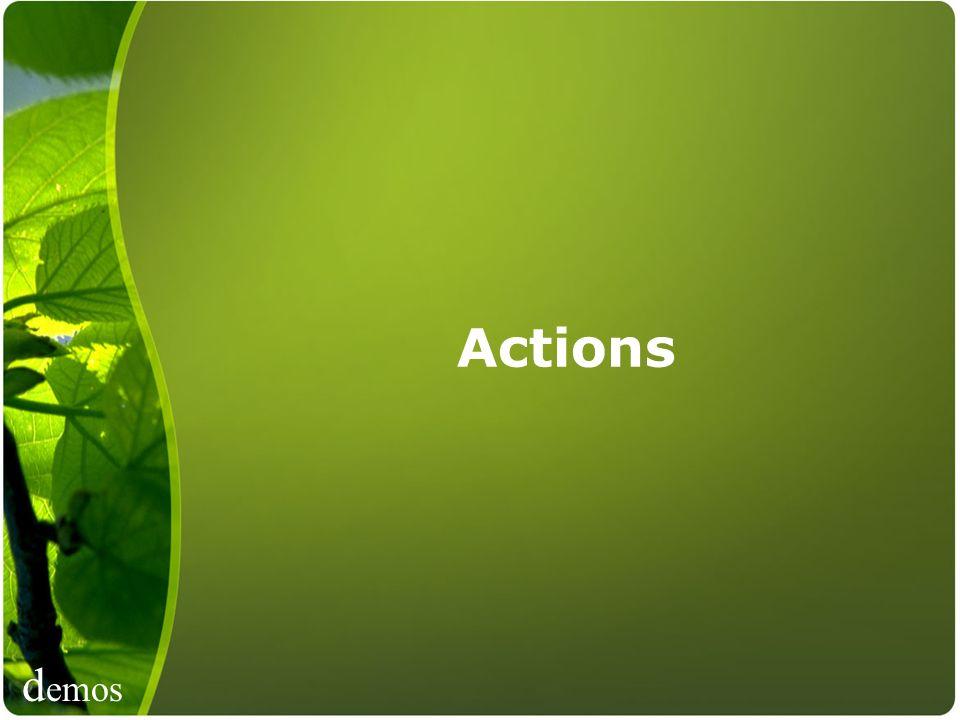 d emos Actions