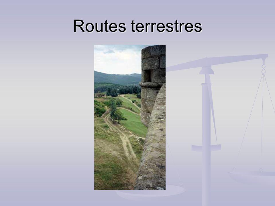 Routes terrestres