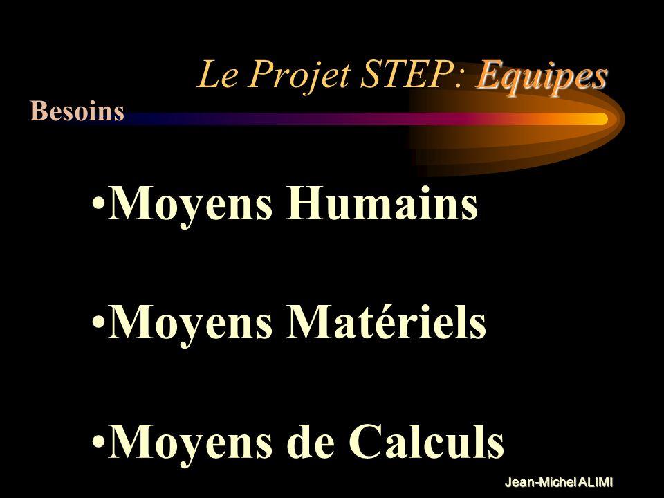 Jean-Michel ALIMI Equipes Le Projet STEP: Equipes Groupes de Travail, Forum ouvert (Opération du CS de lObs de Meudon) Rapports aux établissements fon