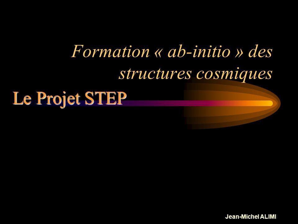 Jean-Michel ALIMI Produits Le Projet STEP: Produits Produits dérivés Science ! Produits dérivés pédagogiques: Etudiants (PPL, ENSTA), Grand Public IIM