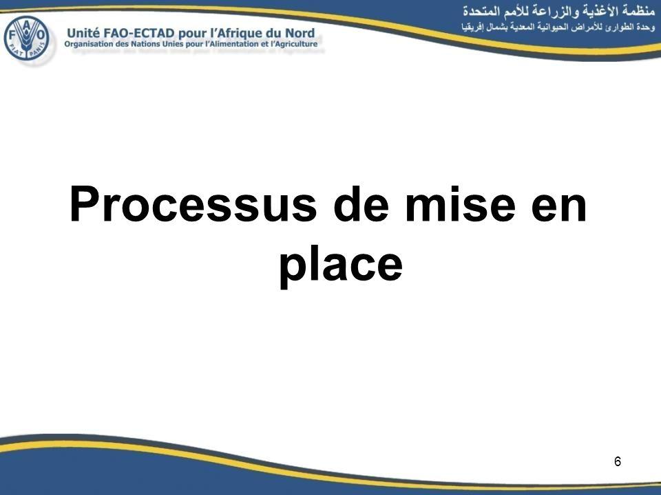 Processus de mise en place 6