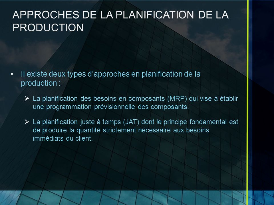METHODES DOPTIMISATION Lidée générale des pour la résolution en programmation dynamique: On part dun sous problème, celui de dernière étape, dont la résolution est triviale.