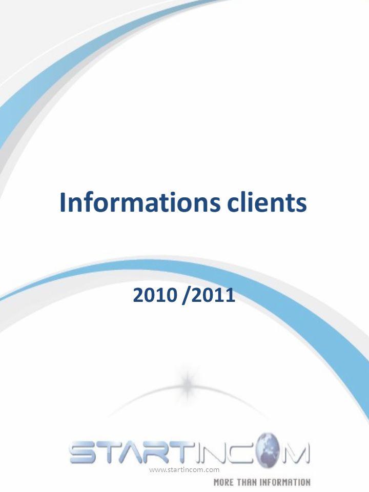 2010 /2011 www.startincom.com