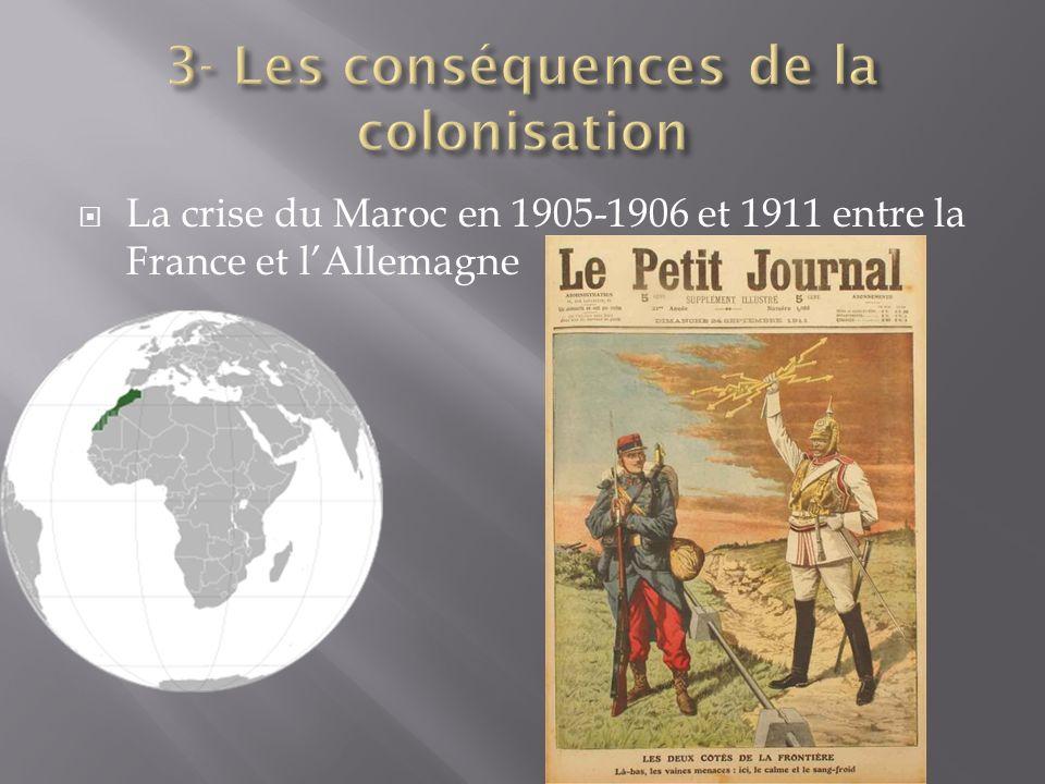 La crise du Maroc en 1905-1906 et 1911 entre la France et lAllemagne