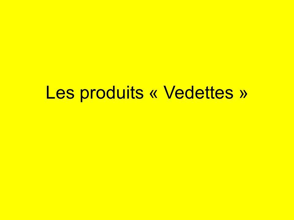 Les produits « Vedettes »