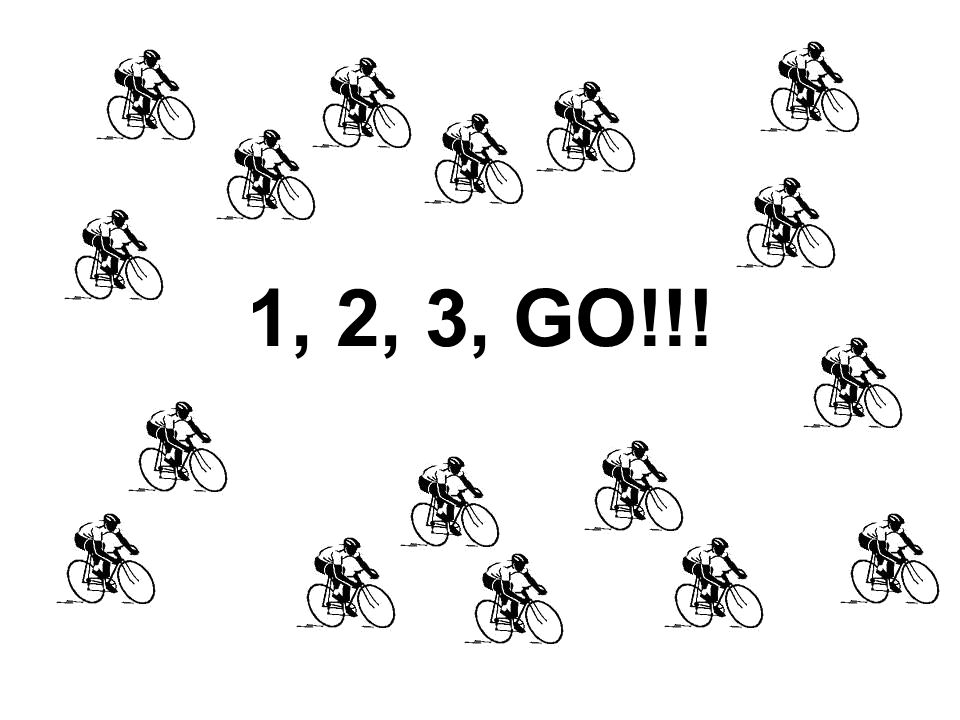 1, 2, 3, GO!!!