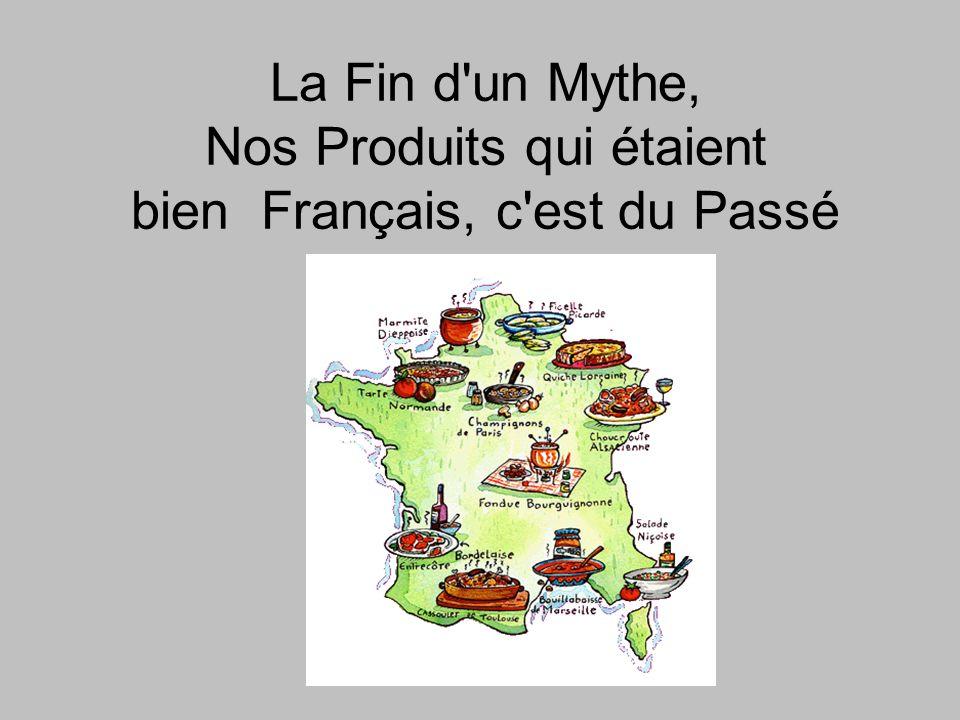 Les champignons de Paris De Paris, ils n ont que le nom.