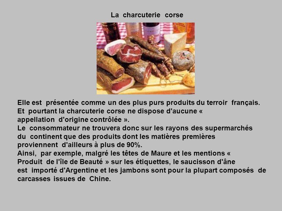 Le jambon d Aoste Voilà une des plus belles et des plus juteuses escroquerie « marketing » .