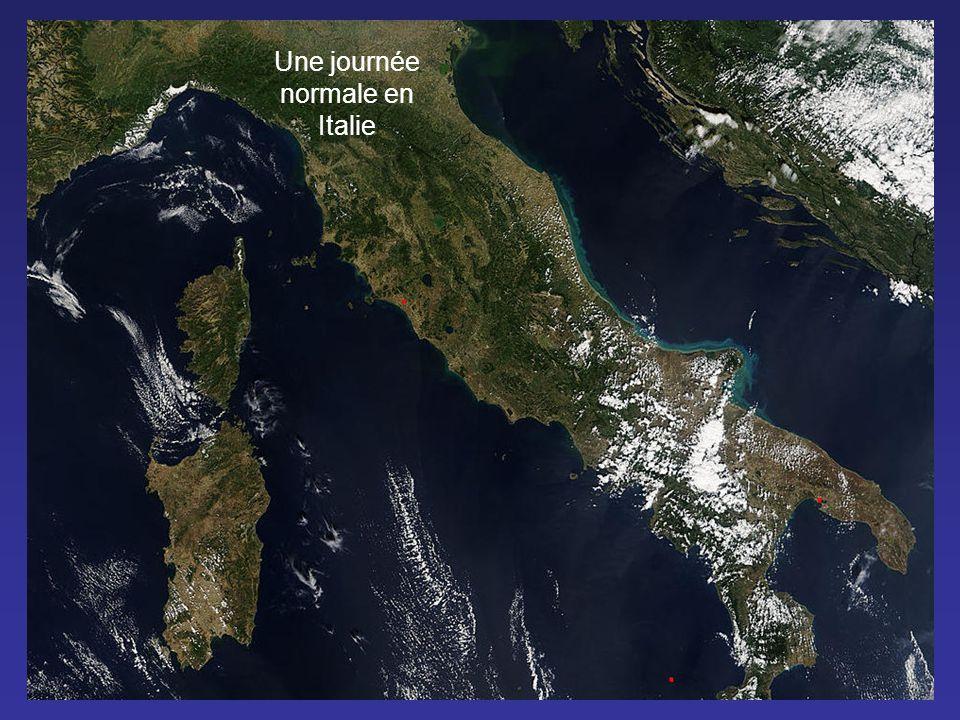 France Angleterre Traces de produits chimiques Expériences de contrôle climatique sur la Manche