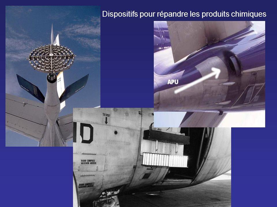 Que sont ces produits chimiques : Ce sont des suspensions de : - baryum - aluminium - de polymères de silicium répandus par milliers de tonnes dans tous les ciels du monde, en avion, avec un équipement approprié