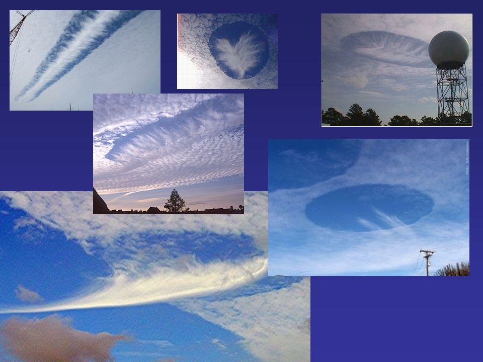 Des nuages à trous...