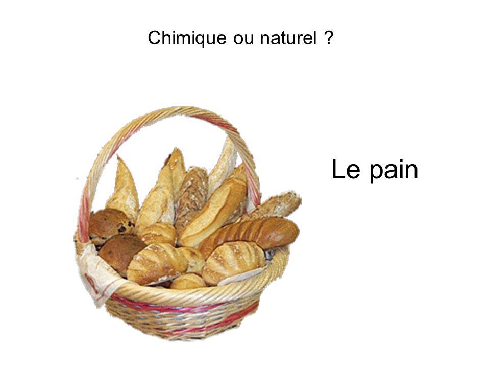 Chimique ou naturel ? Le pain