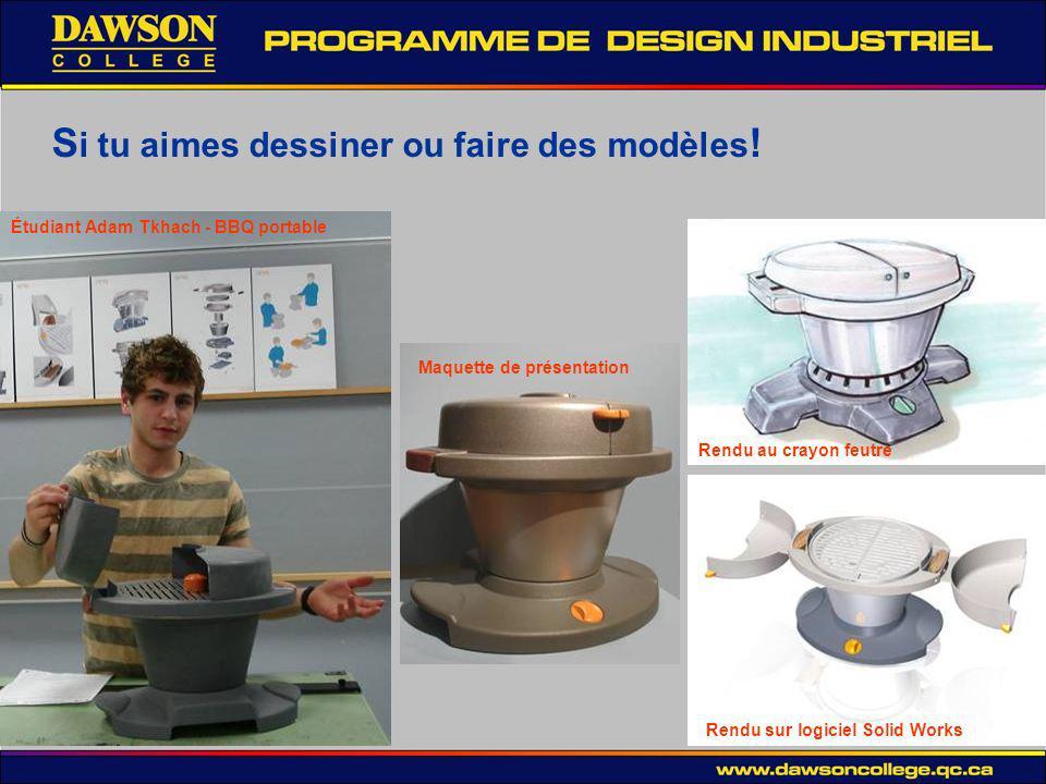 alors… Notre programme de design industriel fera de toi un vrai professionel, toffrant des possibilités uniques… Solid Works – Modelization 3D Présentation de fin de semestre