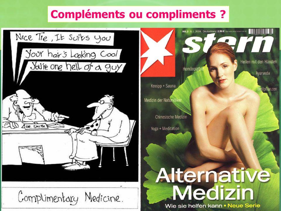 Compléments ou compliments ?