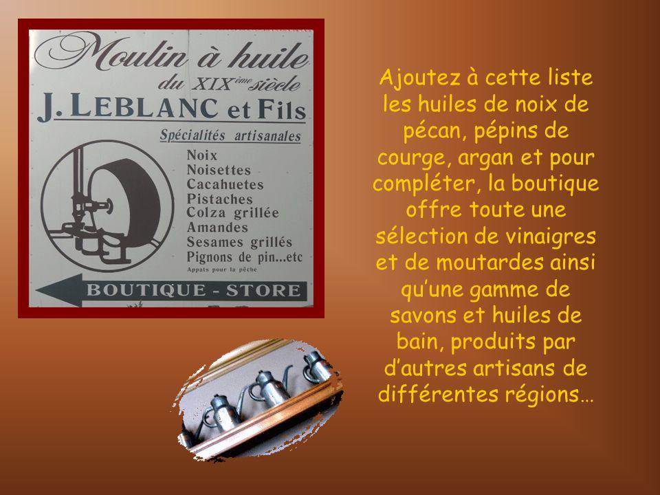 Lhuilerie Leblanc est située au centre du village, à proximité de la Grand-Place…