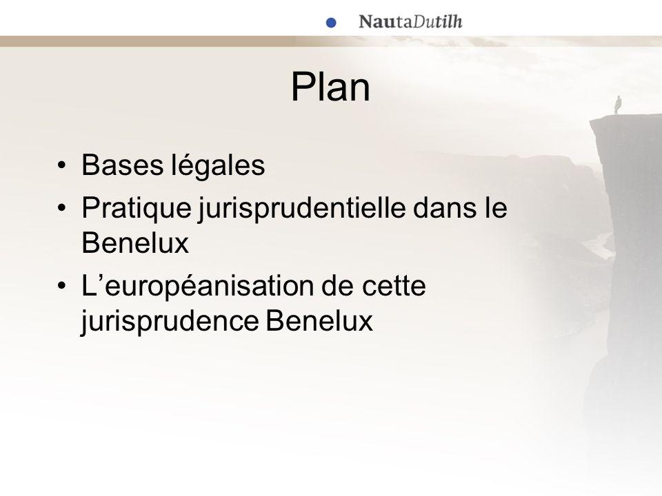 Bases légales Accord ADPIC (TRIPs) : article 46 Directive 2004/48/CE Droit Benelux (territoire unifié) –Convention Benelux en matière de propriété intellectuelle (CBPI) –Droit commun