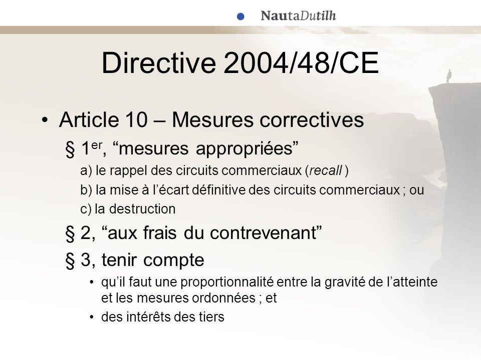 Exemples récents (1) Cour dappel de La Haye (référé) 23 août 2007 –Bacardi & Co.