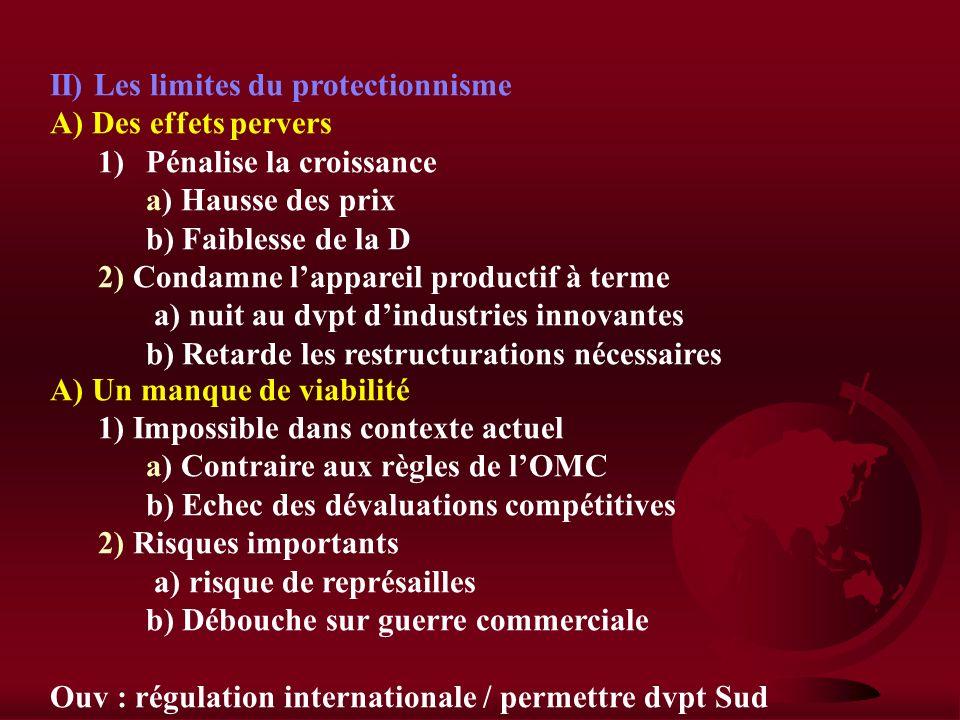 I) Le protectionnisme peut être une nécessité A) Un protectionnisme offensif 1)Le protectionnisme éducateur a) Obj : rattraper les + avancés b) Protec