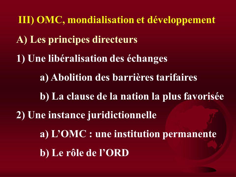 B) Les limites de ces stratégies 1) L'échec dun mode de développement a) Un secteur industriel inefficace b) Dimportants déséquilibres 2) Un manque de