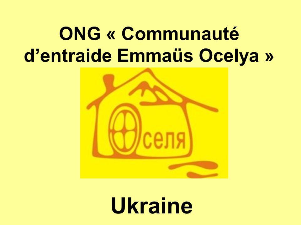 ONG « Communauté dentraide Emmaüs Ocelya » Ukraine