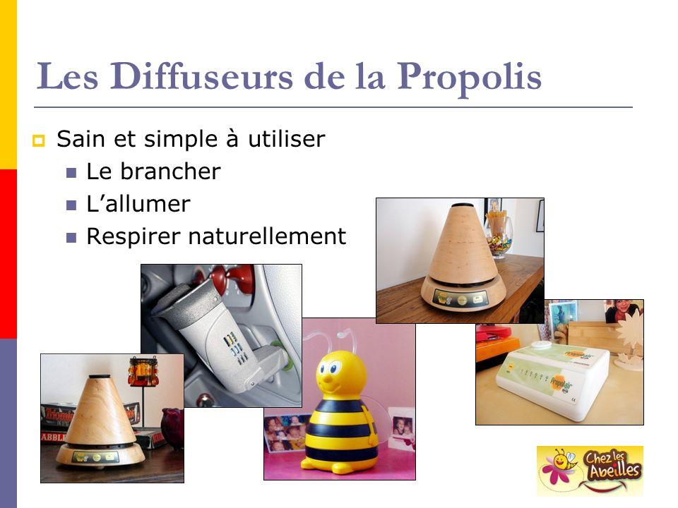 Les Diffuseurs de la Propolis Sain et simple à utiliser Le brancher Lallumer Respirer naturellement
