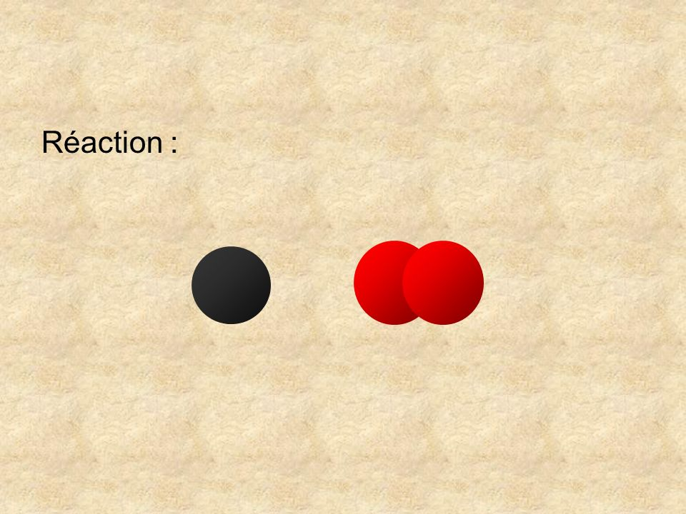 On vérifie également quil y a bien deux atomes doxygène parmi les réactifs et deux parmi les produits.