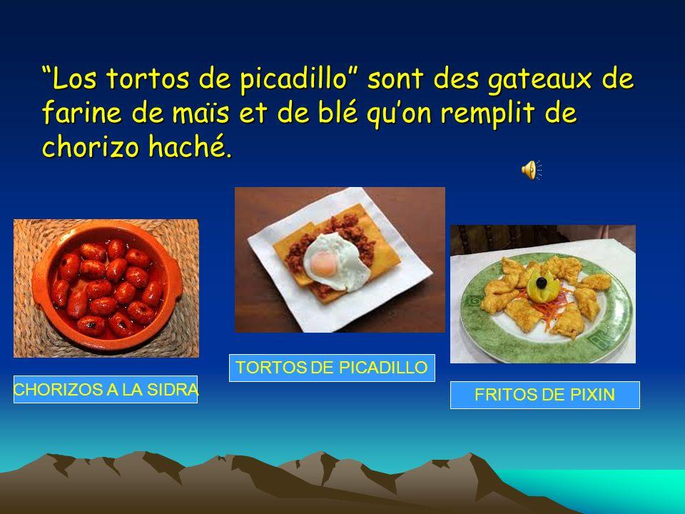 Los tortos de picadillo sont des gateaux de farine de maïs et de blé quon remplit de chorizo haché.
