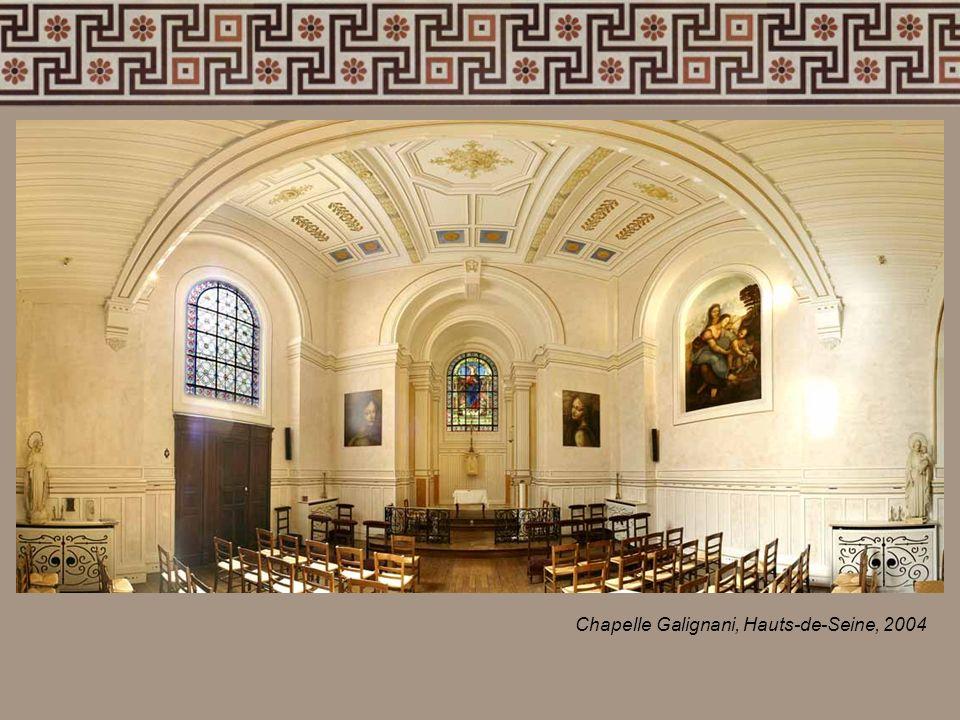Chapelle Galignani, Hauts-de-Seine, 2004