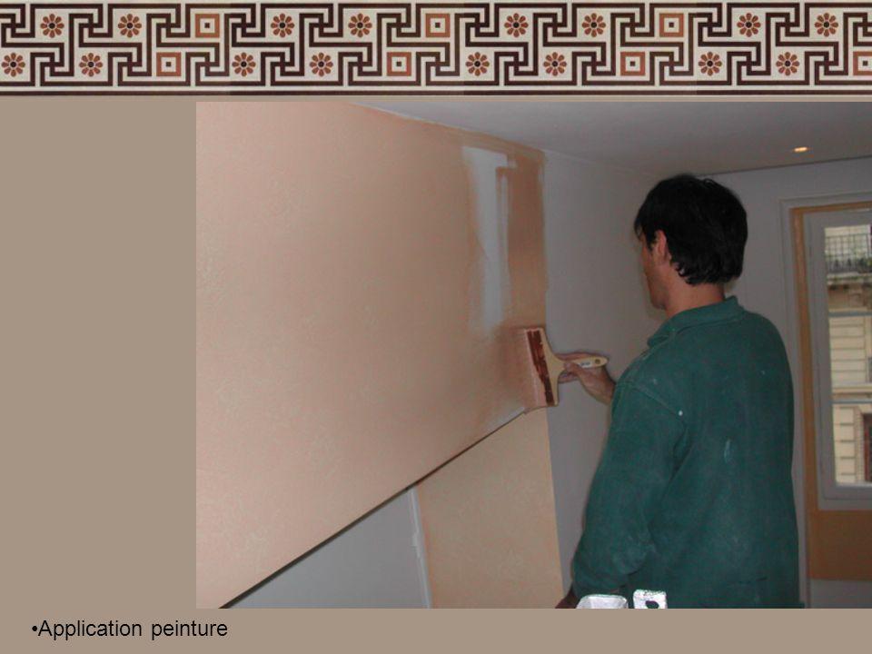 Application peinture