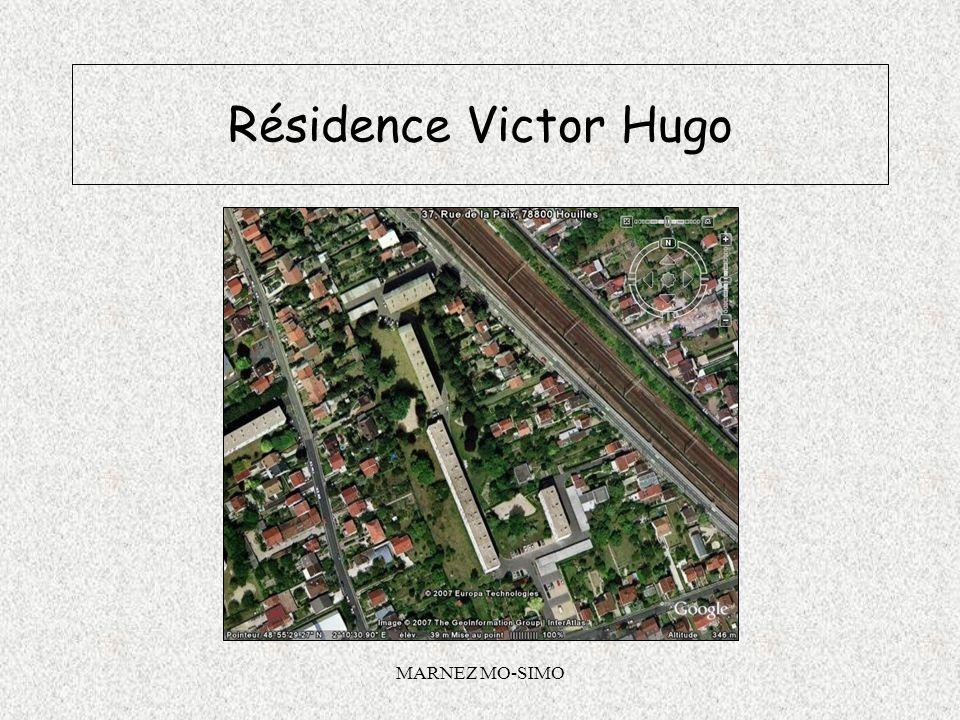 MARNEZ MO-SIMO Application dun traitement ITE sur les façades Résidence VICTOR HUGO HOUILLES