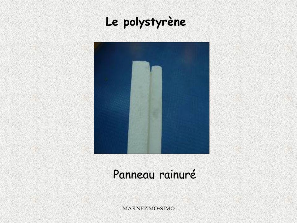 MARNEZ MO-SIMO Le polystyrène Système Calé chévillé : Panneaux de 1000 x 500 Epaisseur 120 mm : R = 2,85 m².K/W