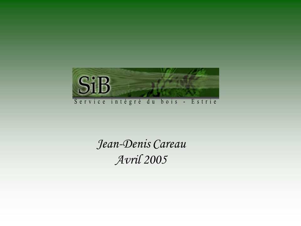 Jean-Denis Careau Avril 2005