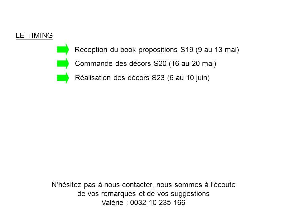 Vitrine 1 : rose/vert Tissus et voiles à présenter - ST/LISAROSE/0 - VD/ETAMCREME/300 - ST/MONAVERT/0 - VD/ETAMANIS/300 Tissus et voiles complémentaires - ST/MILOFUSCHIA/0 - ST/MILOECRU/0 - ST/MILOPOMME/0 - ST/TAFTAFUCHSIA/0 Papier peint principal à tapisser Partie du côté de Lisa rose En haut : AV/LISA/BEIGE Frise : AO/LISA/ROSE En bas : AV/AMBIANCE/FRAMBOIS Partie du côté de Mona AV/HORTENSE/VERT Papiers peints complémentaires : cubes/colonnes/rouleaux - AV/PHOCEA/ECRU - AV/AMBIANCE/ANIS (à venir : new nuage vert) - AV/TORINO/FRAMBOIS - AV/ZORA/ROSE - AV/ZORA/ECRU Coussins - Mona vert - Lisa rose - Milo pomme - Milo fuchsia - Milo écru Embrasses - BO/CABLEPOMPON/ECRU - BO/EGLANTINE/ECRU - BO/EGLANTINE/FUCHSIA - BO/GALETS/FUCHSIA - BO/CABLEPOMPON/VERT - BO/MULTICOLOR/ROSE Chevets - CH/TAFTAFUCHSIA/PYRAMIDE (à venir) - CH/TAFTAFUCHSIA/16X12 (à venir) - CH/MILOPOMME/16X12 (à venir) - CH/MILOPOMME/PYRAMIDE (à venir) - Lisa rose - Mona vert Pieds de lampe Pour Lisa - LA/CERUSE/BLANC - LA/CINTRE40CAR/IVOIRE - LA/TUBE110CARRE/IVOIRE Pour Mona - LA/CERUSE/ROUILLE - LA/CINTRE40CAR/ROUILLE - LA/TUBE110CARRE/ROUILLE Housse de chaise Tafta fuchsia + galette Tafta vert Confections préconisées Pour Lisa rose - Finition nouettes + voile Etamine crème finition nouettes + embrasse nœud Tafta fuchsia Pour Mona vert - Finition duo pattes avec tafta fuchsia + voile Etamine anis finition pattes + embrasse vague Tafta fuchsia Pour séparer votre vitrine en 2 (et passer du papier peint Hortense au papier peint Lisa/Ambiance framboise), duo milo fuchsia + milo pomme Si vous avez de la place, jouez les confections autour du lit pour Lisa rose (tête de lit Lisa + couvre-lit nouettes tafta vert) et la housse de chaise + galette pour Mona vert