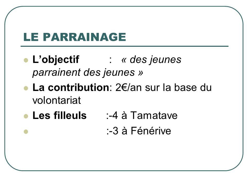Distribution du riz à Foulpointe Ste Thérèse