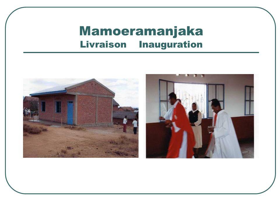 LOPERATION « IVAN » 16/02/2008 Passage du cyclone « Ivan » sur la côte-est de Madagascar Laide de lassociation: Distribution de riz à Foulpointe et au centre J.D.D de Fénérive Aide financière aux filleuls Aide finanfière pour les besoins durgence à Fénérive