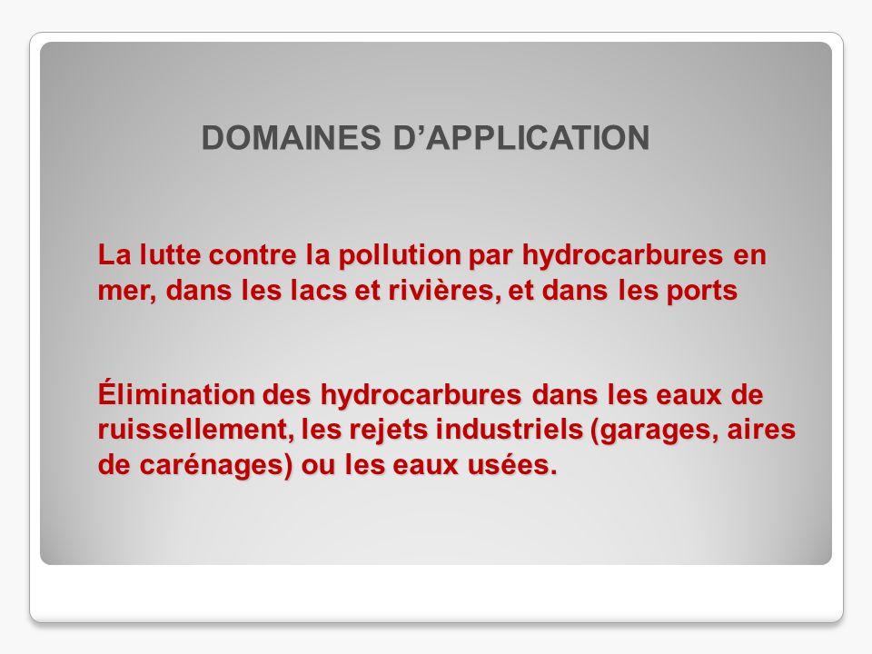 La lutte contre la pollution par hydrocarbures en mer, dans les lacs et rivières, et dans les ports Élimination des hydrocarbures dans les eaux de rui