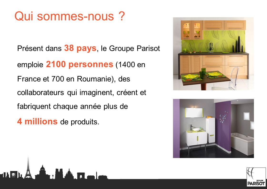 Présent dans 38 pays, le Groupe Parisot emploie 2100 personnes (1400 en France et 700 en Roumanie), des collaborateurs qui imaginent, créent et fabriq