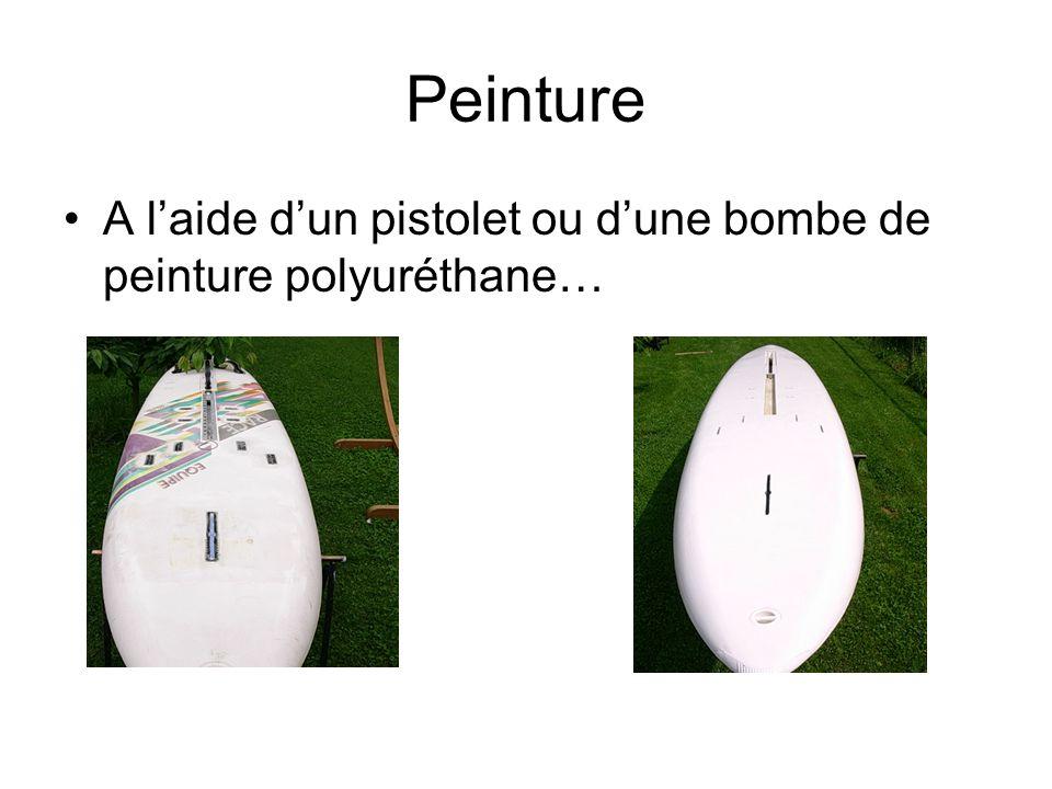 Peinture A laide dun pistolet ou dune bombe de peinture polyuréthane…