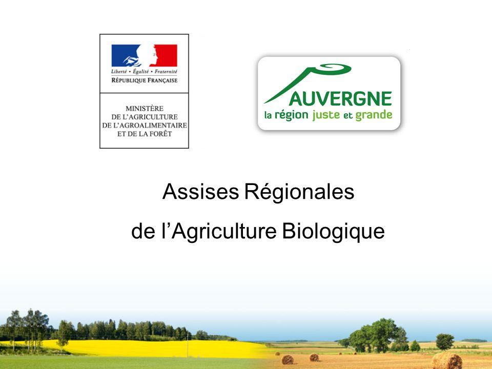 Assises Régionales de lAgriculture Biologique