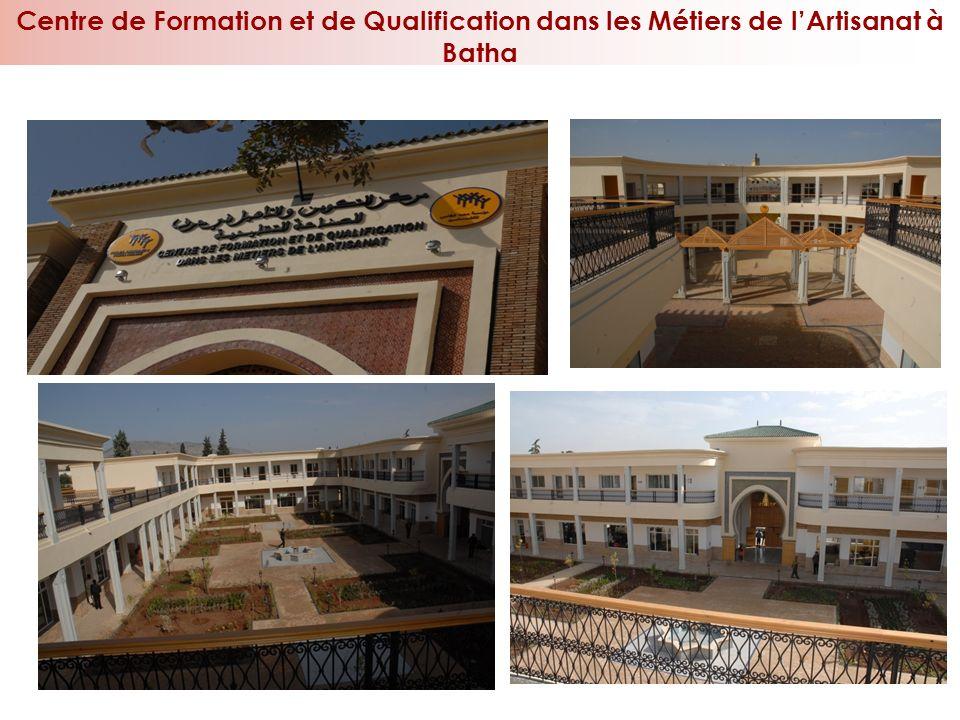 25 Centre de Formation et de Qualification dans les Métiers de lArtisanat à Batha